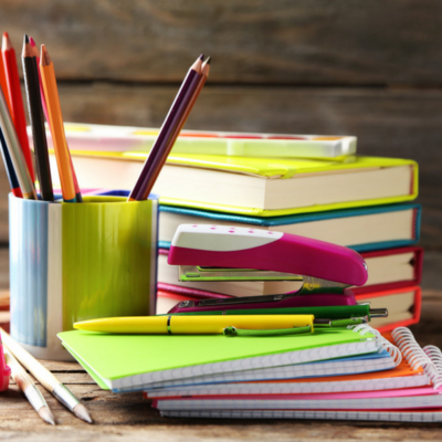 Ryman books and pens
