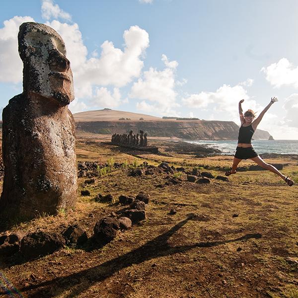 Easter island 600x600