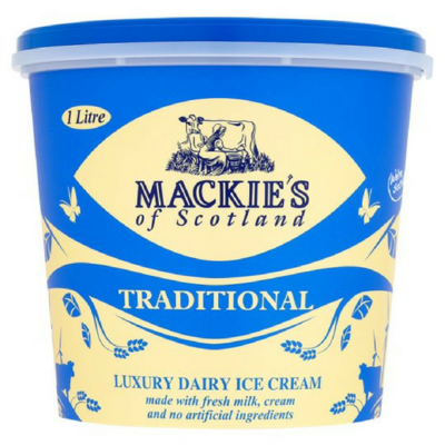 Mackie's Ice Cream Tub