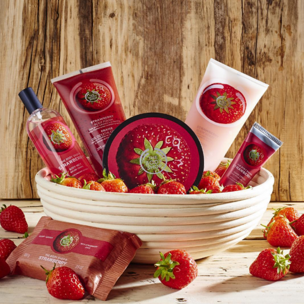 Body shop strawberries