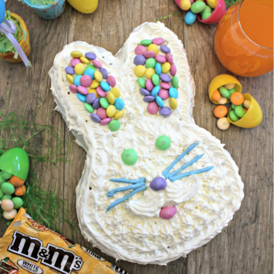 M&Ms Easter Bunny