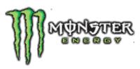 Mini square monster logo