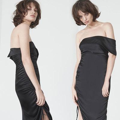 Second Thread black dress