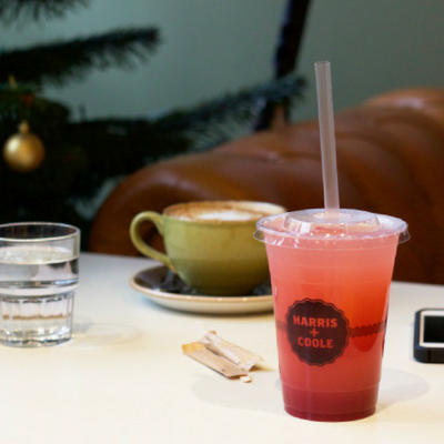 Free drink at Harris + Hoole Student Discount