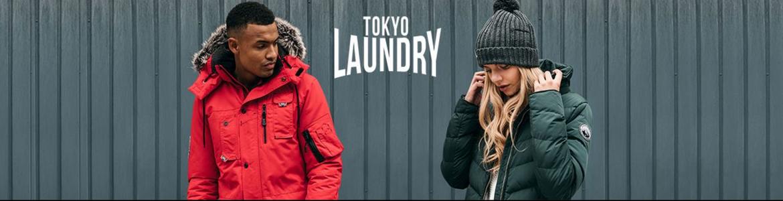 Tokyo laundry banner