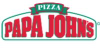 Mini square papa johns logo student discount