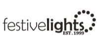 Festive lights logo