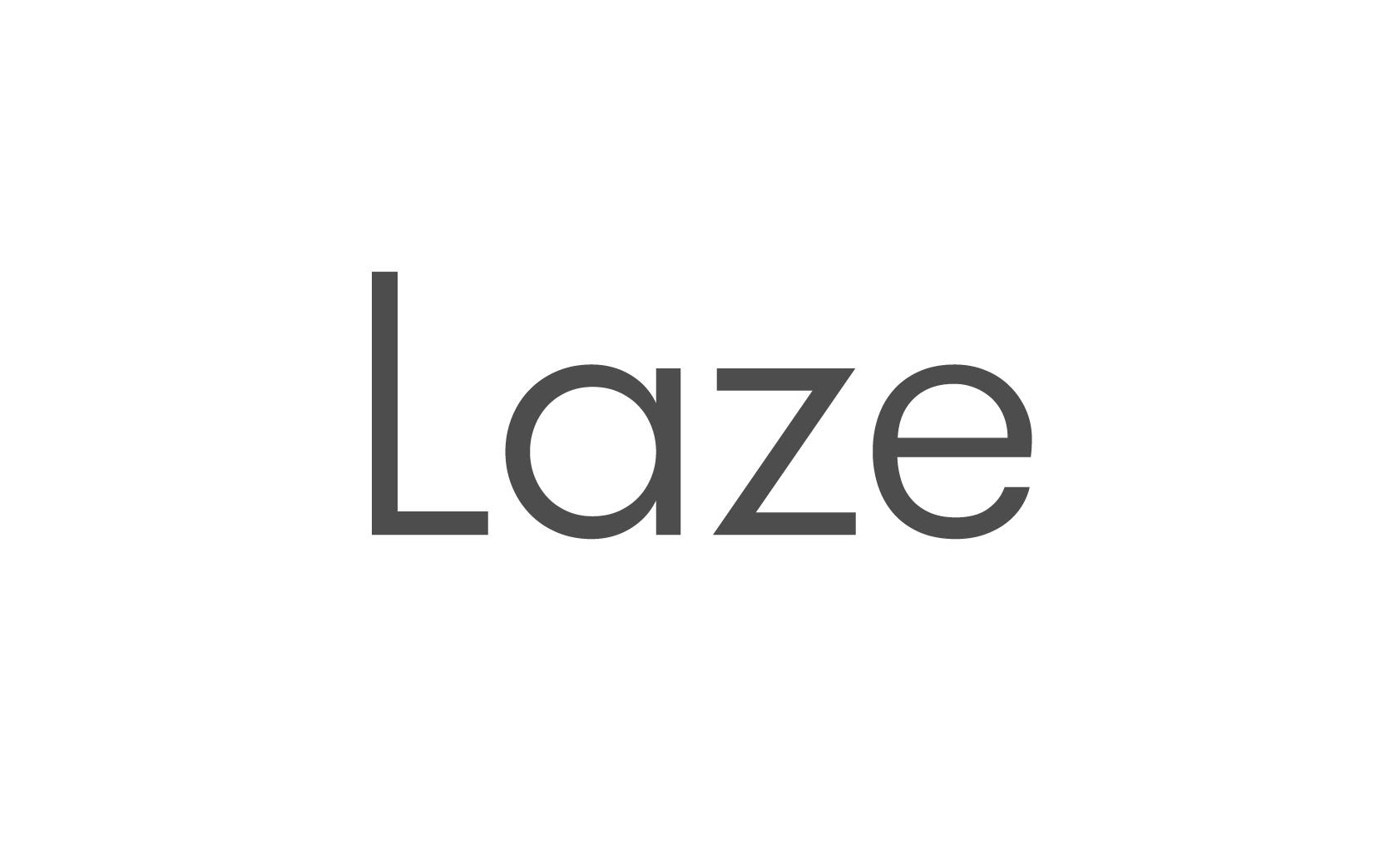 Laze branding website logo