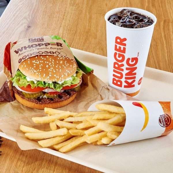 Square burger king