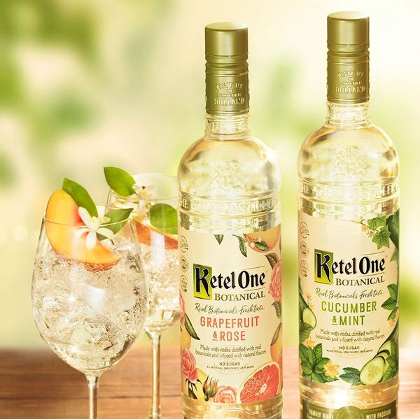 Square ketel one