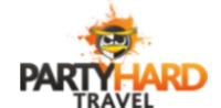 Mini square party hard logo