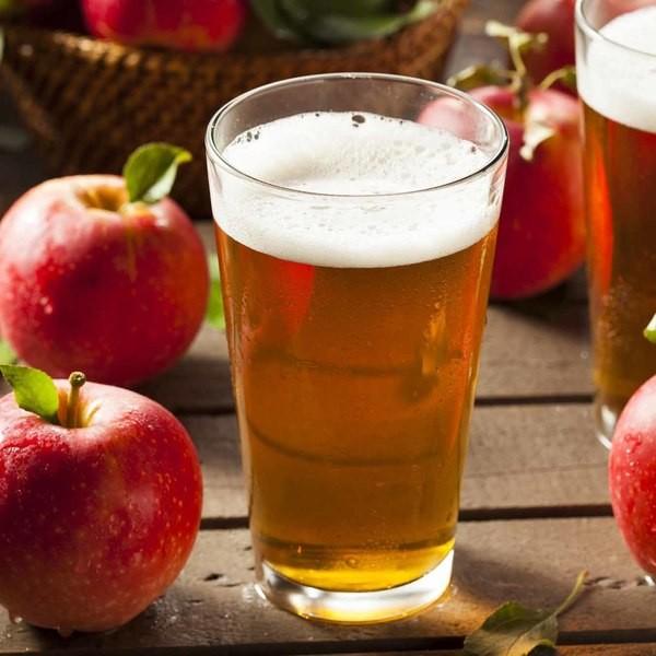 Square apple drink